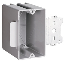 Deep Wood and Steel Stud Bracket Box with Quick/Click