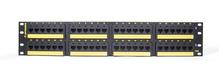 Clarity 10G 48-port panel - Cat6a - six-port modules - 19 in x 3.5 in