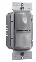 Commercial Passive Infrared (PIR) Wall Switch Sensor, Gray