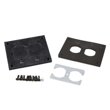 Nonmetallic Duplex Cover Plate