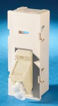 TracJack Module, 1-LC (2 fibers) Multimode, 45 degree exit