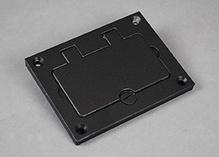 Omnibox® Rectangular Aluminum GFI Cover Plate