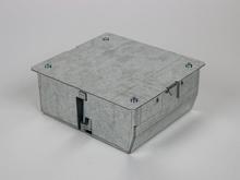CAF3  Shallow Three Gang Raised Floor Box