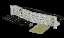 HDJ series 72 port unloaded angled panel