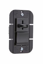 Discontinued   LS Series Incandescent Slide Dimmer, Black   Sub LS600PBK