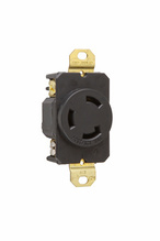 30 Amp Non-NEMA 3 Wire - Single Receptacle, Grounding