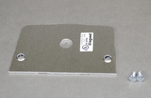 525 Series Single Receptacle Device Plate