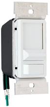 Wide Slide Series Dimmer, White