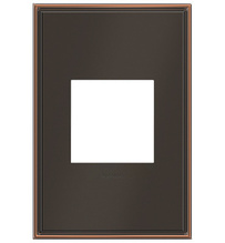 adorne® Oil-Rubbed Bronze One-Gang Screwless Wall Plate
