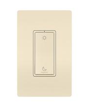 Sleep|Wake Wireless Smart Switch with Netatmo, Light Almond