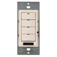 DLM 4-Button Partition Switch, Black