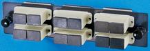 6-SC-Duplex (12 fibers) multimode adapters with phosphbronze alignment sleeves