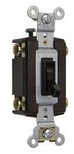 TradeMaster Self-Grounding 4-Way Toggle Switch, Ivory