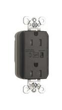 PlugTail® Tamper-Resistant Surge Protective Duplex Receptacle, Brown