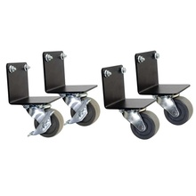 Caster Kit for Swing-Out Wall-Mount Cabinets