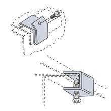 Divider Hold Down Clip
