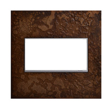 Hubbardton Forge® Bronze, 2-Gang Wall Plate