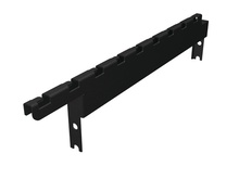 MM20 Cable Tray Mounting Bracket -  2 in H for MM20 10-1/2 in  channel racks -  supports wire tray up to 18 in W -  Black