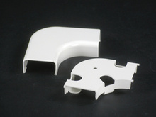 Uniduct 2900 Series Radiused Flat Elbow Fitting