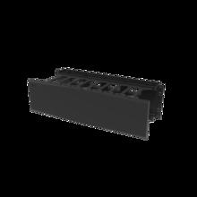 Horizontal Cable Manager, Single Sided, 3 rack unit, Black
