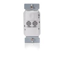 Ultrasonic Wall Switch Occupancy Sensor, 1-Button, 120/277V, Lt. Almond