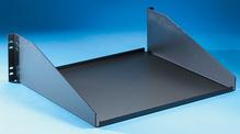 Equipment Shelf - 5.25 H x 17.25 in W x 15.13 in D - black