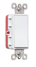 PlugTail® Single-Pole 20A Decorator Switch, White
