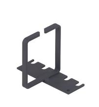 Vertical Cable Rings - 2RU - Black - .91 in W x 2.50 in D