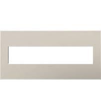adorne® Greige Five-Gang Screwless Wall Plate