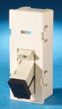 TracJack Module, 1-SC Simplex Multimode, 45 degree exit