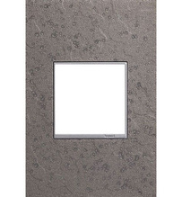 adorne® One-Gang Screwless Wall Plate in Hubbardton Forge® Natural Iron