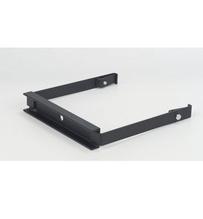 Runway Hanger Bracket, 12'', Black, 12.38''W x 12.00''H x 2.00''D
