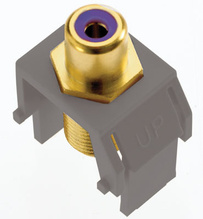Subwoofer RCA to F-Connector, Magnesium