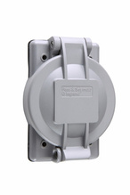 Weatherproof Cover for Flanged Inlet/Outlet
