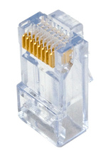 High Performance Cat 6 RJ45 Modular Plug