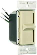 Discontinued   Wide Slide Series Dimmer, Ivory   Sub WS700TC