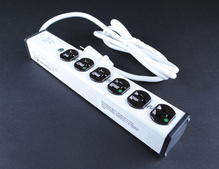 Medical Grade Plug-In Outlet Center Unit / APPROVED for Patient Care areas / 120V/20A / 6 O/L / 15' cord