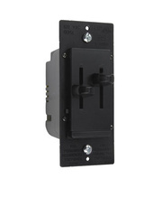 LS Series Dual Fan Speed/Dimmer Control, Black