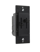 LS Series Dual Fan Speed/Dimmer Control, Black