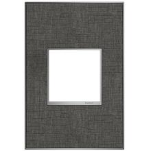 adorne® Slate Linen One-Gang Screwless Wall Plate