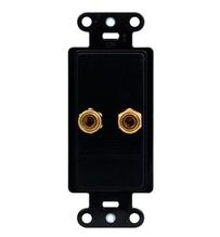 Single Speaker Strap, Black