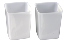 3-Liter Plastic Tub (2-Pack)