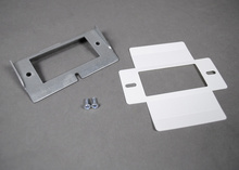 RFB4-CI Series Internal GFCI or Decorator Style Receptacle Opening Bracket