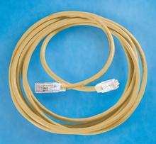 Clarity 6 Modular Patch Cord, 15', yellow
