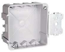 "4"""" Square Box with Threaded Mounting Holes"