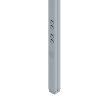 TELE-POWER EXPRESS POLE (2)5FT DG SECTIONS DESIGNER GRAY