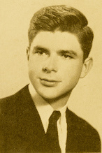 Before he was a science fiction author, Robert L. Forward (1932–2002), B.S. '54, Ph.D. '65, physics (shown here in 1954), was a physicist and aerospace engineer. As a student at the University of Maryland, he assisted Joseph Weber. Photo: University of Maryland Archives. (Click image to download hi-res version.)
