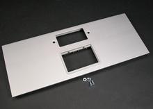 AL5200 Large Multi-Channel Raceway GFCI and 6A Mini Adapter Cover Plate