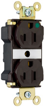 PlugTail® Extra Heavy-Duty Hospital Grade Receptacles, 15A, 125V, Brown