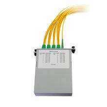 M4 1X16 POL SPLITTER- SC/APC CONNECTORS- 1M PIGTAILS